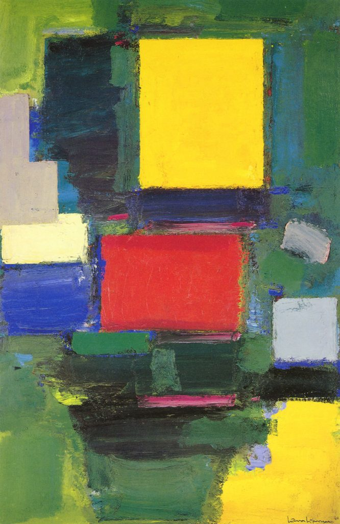 "Hans Hofmann, 1959-60, ""The gate"""