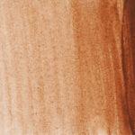 Sennelier L'Aquarelle Artists' Akvarellfärg 1/2 kopp Burnt Sienna 211 Tub & Färgprov