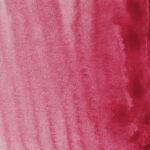 Sennelier L'Aquarelle Artists' Akvarellfärg 1/2 kopp Carmine 635 Tub & Färgprov