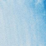 Sennelier L'Aquarelle Artists' Akvarellfärg 1/2 kopp Cerulean Blue 302 Tub & Färgprov