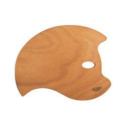 Mabef oval träpalett 30x40cm