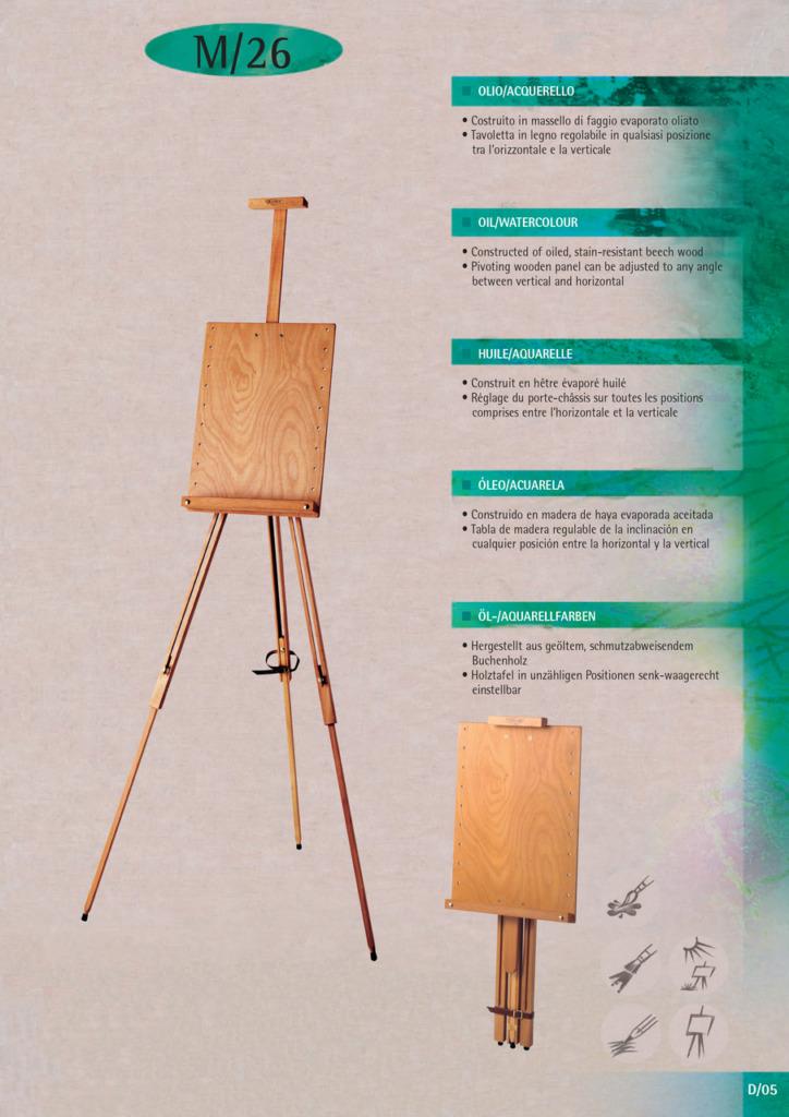 In Legno Wood Design mabef fältstaffli m26