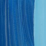 Sennelier Extra Fine Oljefärg 200ml Azure blue Tub & Färgprov