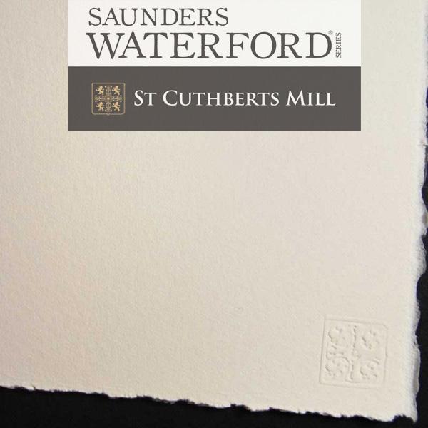 Saunders Waterford Akvarellpapper 76x56 Hot Pressed 1 arksaunders-waterford-hp.JPG