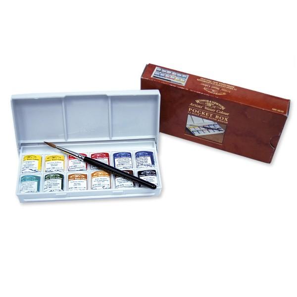 Winsor & Newton Professional akvarell 12 koppar