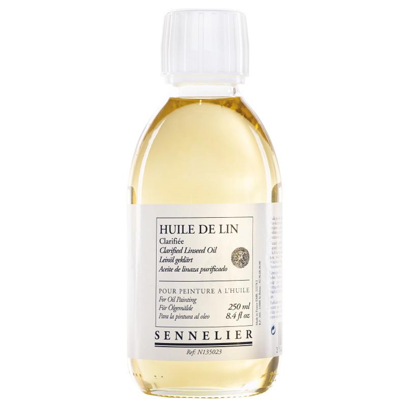Sennelier oljemedium Clarified linseed oil 250 ml