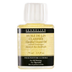 Sennelier oljemedium Clarified linseed oil 75 ml