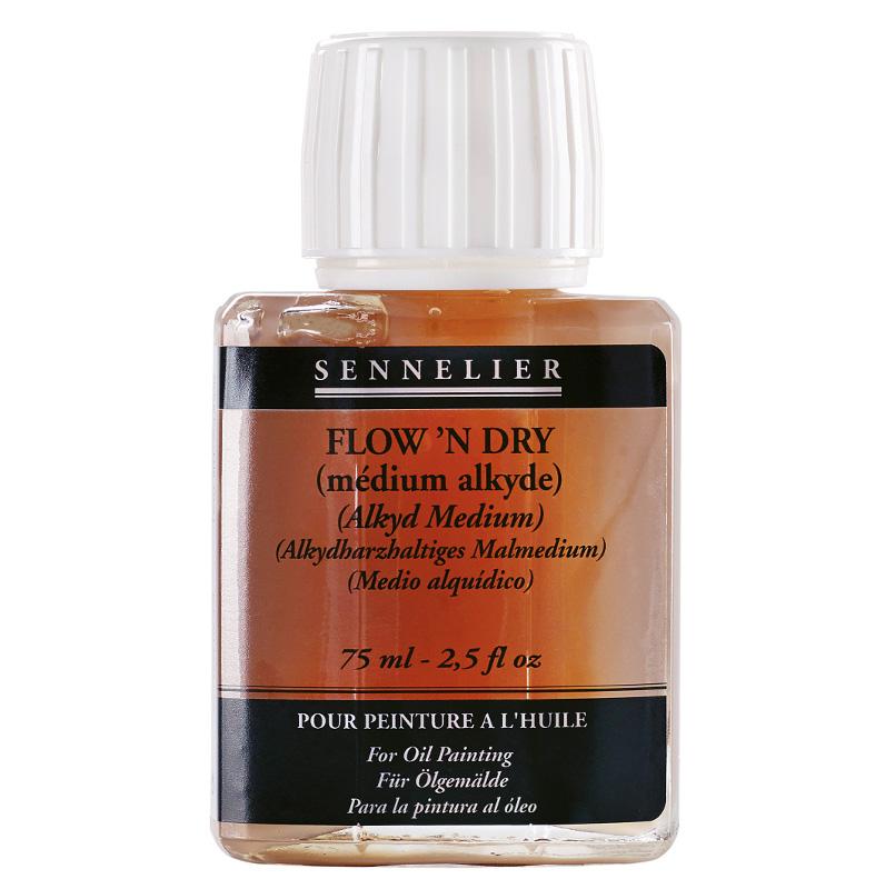 Sennelier oljemedium Flow & Dry 75ml