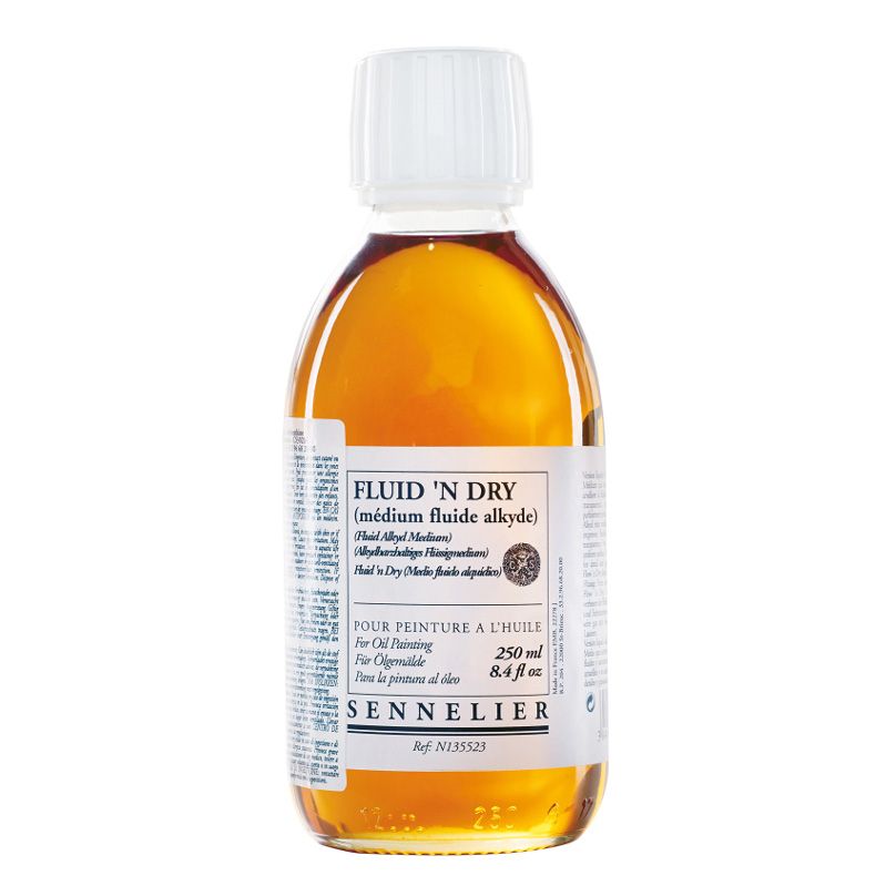 Sennelier oljemedium Fluid & Dry 250ml
