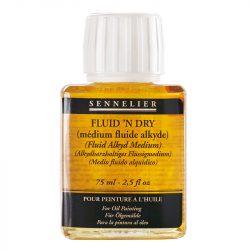Sennelier oljemedium Fluid & Dry 75ml