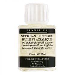 Sennelier oljemedium Oil & acrylic brush cleaner 75 ml