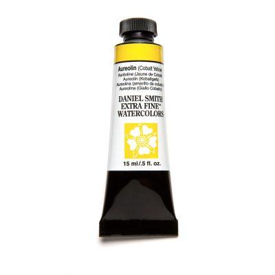 Daniel Smith Extra Fine akvarellfärg 15 ml Aureolin (Cobalt Yellow)