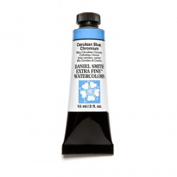 Daniel Smith Extra Fine akvarellfärg 15 ml Cerulean Blue