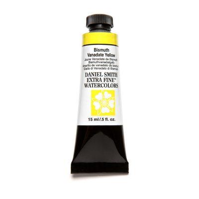 Daniel Smith Extra Fine akvarellfärg 15 ml Bismuth Vanadate Yellow