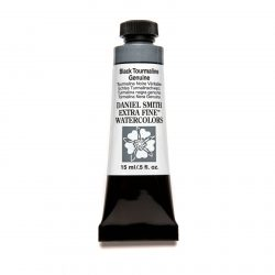 Daniel Smith Extra Fine akvarellfärg 15 ml Black Tourmaline Genuine