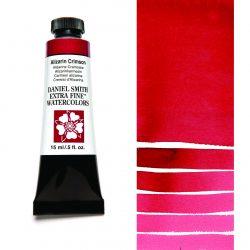 Daniel Smith Extra Fine akvarellfärg 15 ml Alizarin Crimson Tub & Färgprov