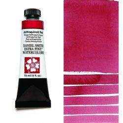 Daniel Smith Extra Fine akvarellfärg 15 ml Anthraquinoid Red Tub & Färgprov