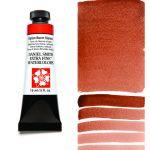 Daniel Smith Extra Fine akvarellfärg 15 ml Italian Burnt Sienna Tub & Färgprov