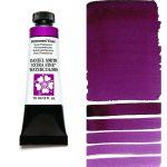 Daniel Smith Extra Fine akvarellfärg 15 ml Permanent Violet Tub & Färgprov