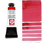 Daniel Smith Extra Fine akvarellfärg 15 ml Perylene Scarlet Tub & Färgprov