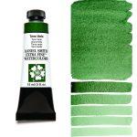 Daniel Smith Extra Fine akvarellfärg 15 ml Terre Verte Tub & Färgprov