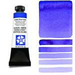 Daniel Smith Extra Fine akvarellfärg 15 ml Cobalt Blue Violet Tub & Färgprov