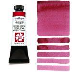 Daniel Smith Extra Fine akvarellfärg 15 ml Pyrrol Crimson Tub & Färgprov
