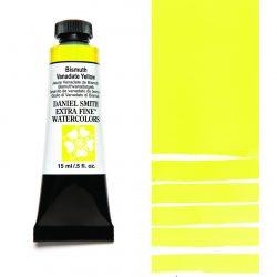 Daniel Smith Extra Fine akvarellfärg 15 ml Bismuth Vanadate Yellow Tub & Färgprov