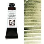 Daniel Smith Extra Fine akvarellfärg 15 ml Hematite Genuine (Primatek) Tub & Färgprov