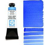 Daniel Smith Extra Fine akvarellfärg 15 ml Verditer Blue Tub & Färgprov