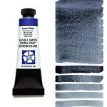 Daniel Smith Extra Fine akvarellfärg 15 ml Lunar Violet Tub & Färgprov