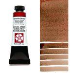 Daniel Smith Extra Fine akvarellfärg 15 ml Piemontite Genuine (Primatek) Tub & Färgprov
