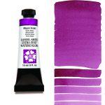 Daniel Smith Extra Fine akvarellfärg 15 ml Mayan Violet Tub & Färgprov