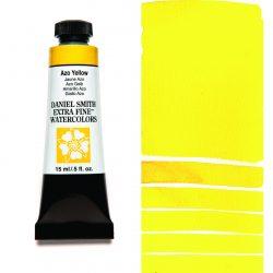 Daniel Smith Extra Fine akvarellfärg 15 ml Azo Yellow Tub & Färgprov