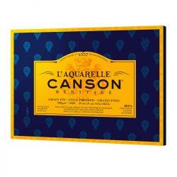 Canson Heritage Akvarellblock 20 31X41 Grain Fin 300G