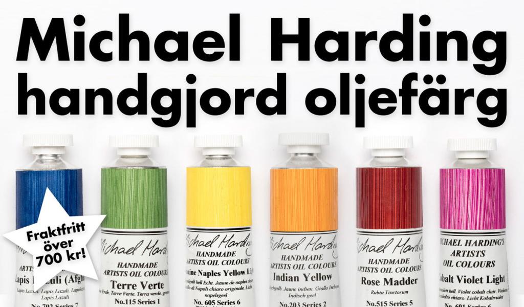 Michael Harding handgjord oljefärg!