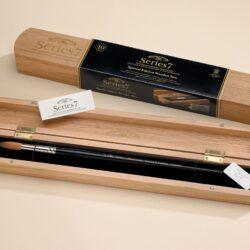 Winsor & Newton Series 7 Kolinsky mårdhårspensel träbox