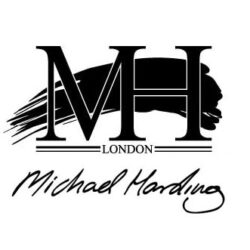 Michael Harding logo black and white