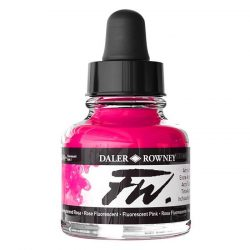 FW Artists' Ink flytande akrylbläck 29,5 ml Fluorescent Pink