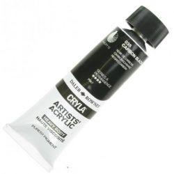 Daler-Rowney Cryla Artists' Acrylic 75ml Carbon Black